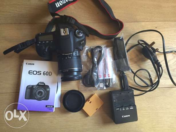 CANON EOS 60D - barely used