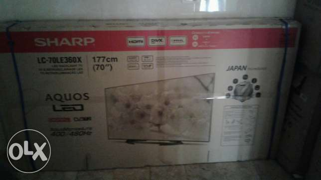 Tv Sharp 70 inch ba3do bil cartoni jdid lysa msta3mal الراهبات -  6