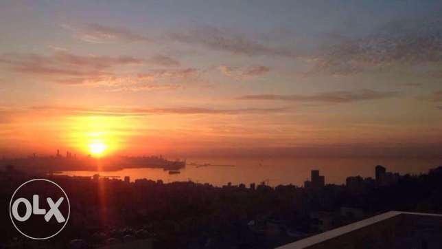 160 m2 furnished apartment for sale in Antelias / Rabwe (sea view)