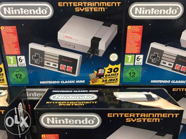 Nintendo Classic Mini - New - 1 year warranty - Delivery Available
