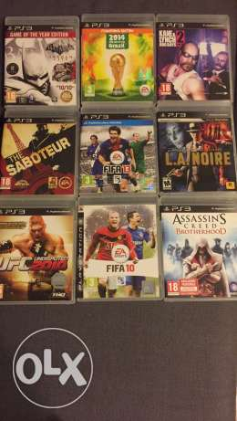 PS3 great games for sale, some unopened.