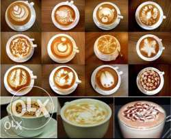 16Pcs/set Fashion Cappuccino Coffee Barista Stencils Template Strew Pa