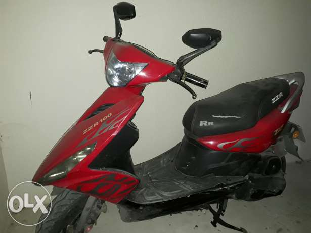 Motorcycle as new
