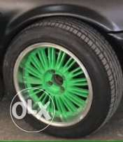 rims 16 inch wa2ftayn 4 bra8i + tires for sale or trade 3a aya shi