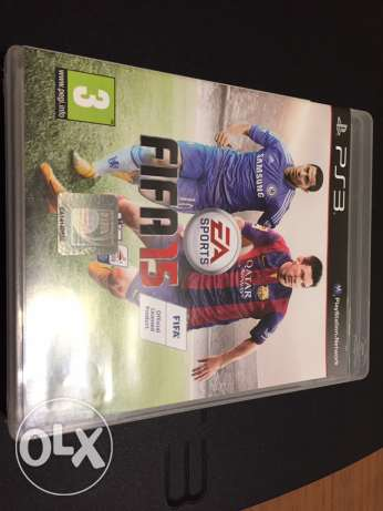 FIFA 15 PS3 excellent condition سن الفيل -  1
