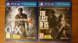 Uncharted 4 + The Last of Us