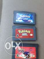 3 pokemon games for advence