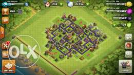Clash of clans th8 for sale 50$