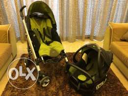 Bebeconfort stroller and car seat