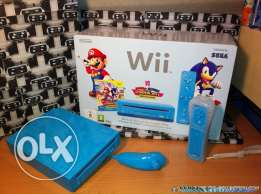 Wii blue color like new