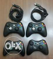 4 Xbox 360 Wireless Controllers