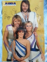 Old abba poster