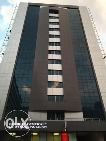 High standards, fire rated, fifteen storey building offering offices and shops. ضبيه -  1