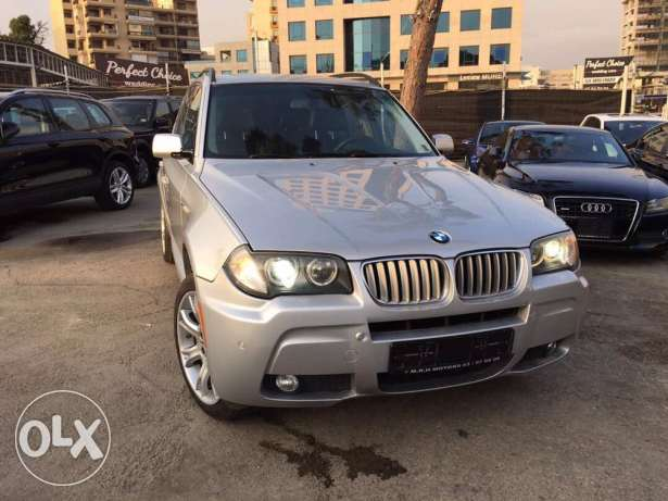 BMW X3 M Package 2008 Silver Fully Loaded!