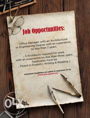 Jop opportunities
