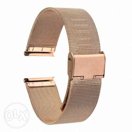 20mm SmartWatch Bronze band stainless steel