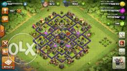 Coc th 9 with awsome 3 base designs and a very good clan
