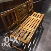 Real wood bench . New for sale