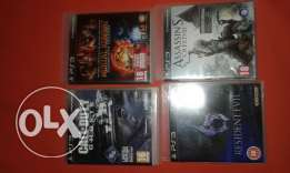 4 Ps3 video games