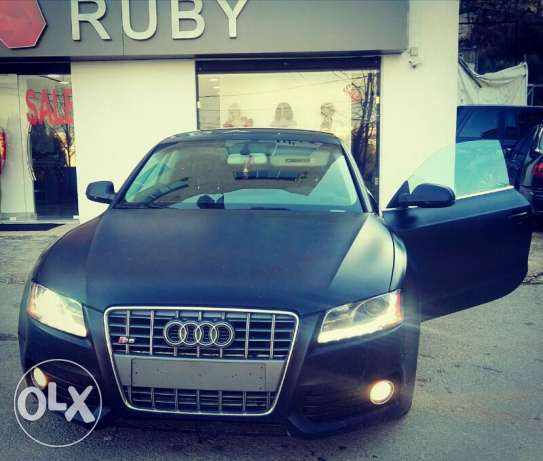 Audi A5 2010 luxury package