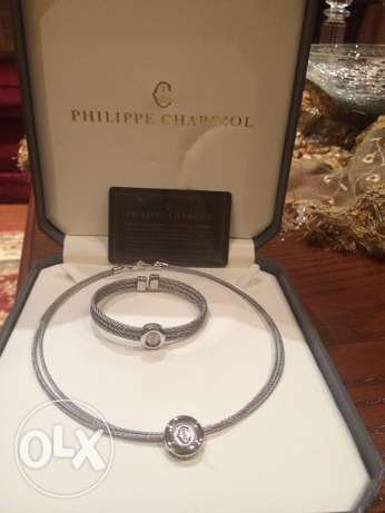 necklace &bracelet philippe charriol for sale صنايع -  1