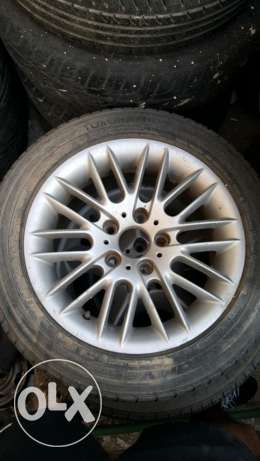 Bmw tire and rim