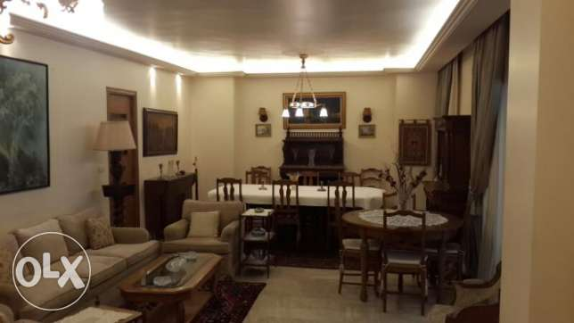 Fully furnished apartment for rent in Jal El Dib with Normal View.