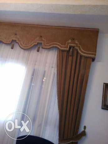 Voile and Velvet Curtain