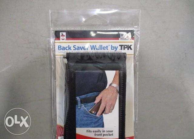 TPK Back Saver Wallet المرفأ -  1