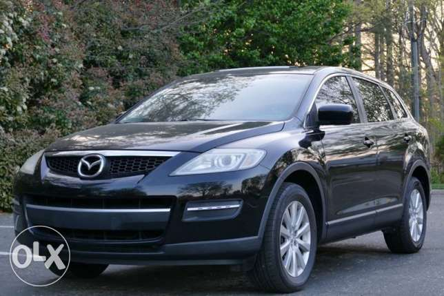 Mazda cx9 touring mod 2009 aswad jeled aswad full options