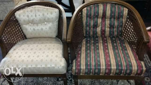 2 antique chairs.. USA origin
