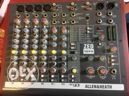 Allen & Heath mixer with USB and 16 effects