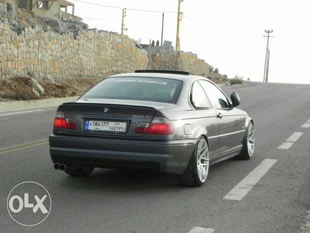 For sale bmw e46 rear bumper m3 without diffuser المتن -  1