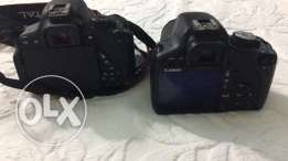 camera canon 500d w 700d for sale