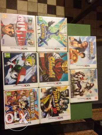 Nintendo 3DS Pal games