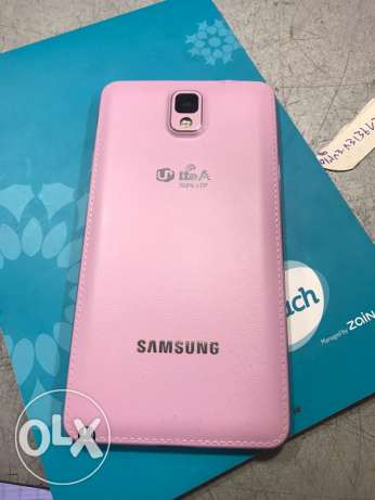 note 3 pink 32G. like new