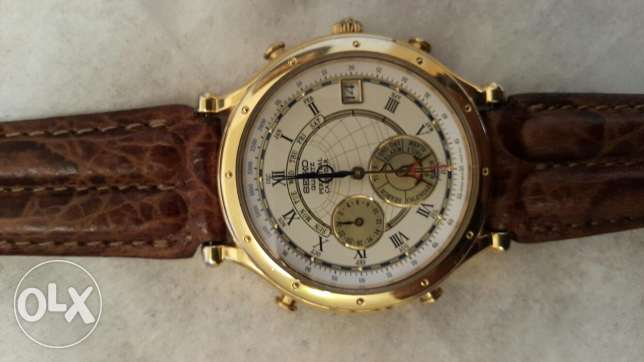 Seiko watch perpetual calendar alarm special addition like a new one