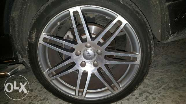 Audi Q7 Sline original wheels