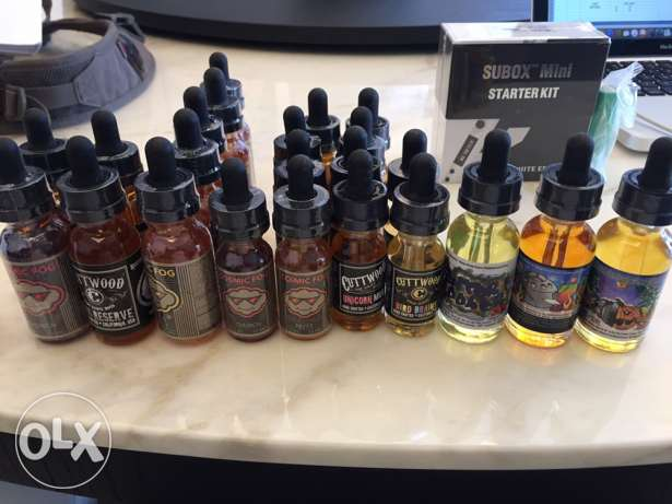 Premium E-Juice for Vape. USA products. NEW and sealed. 3mg nicotine.