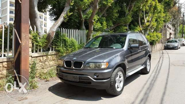 X5 3.0i 2002 sport package excellent condition