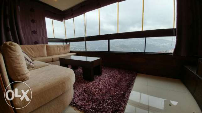 Ajaltoun 120m2-fully furnished-mint condition-panoramic view