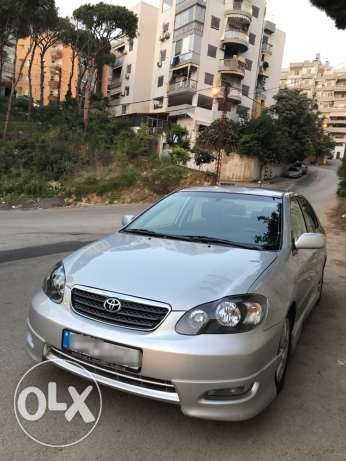 Toyota Corolla S 2006 Full Options
