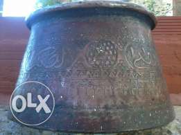 Antique Big Vase 200-300 years, Dasst Kbir, heavy copper,