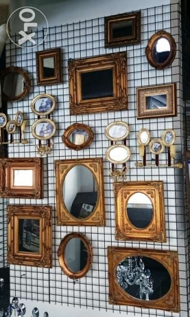 Set of mirrors (13 pieces) $300