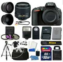 Nikon D5500 Digital SLR Camera with Lens and equipment