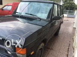 range rover 1991 black good condition