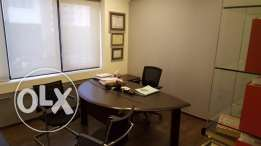 150 Sqm, Furnished Office for rent in Sin El Fil in very good conditio