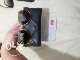 Ray ban gold brown new