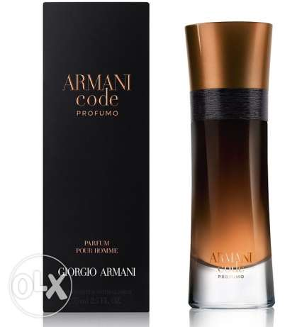 Armani Code Profumo for men 110ml
