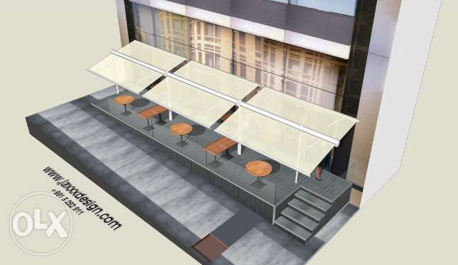 3D DESIGNER for your AWNINGS and store facades انطلياس -  5